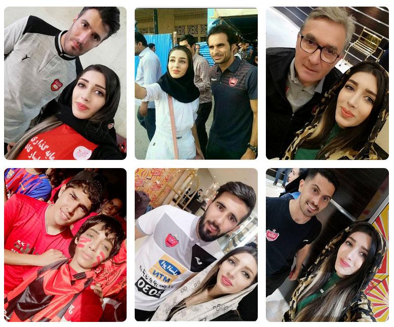 بیوگرافی زینب پرسپولیسی + عکس های زینب صحافی