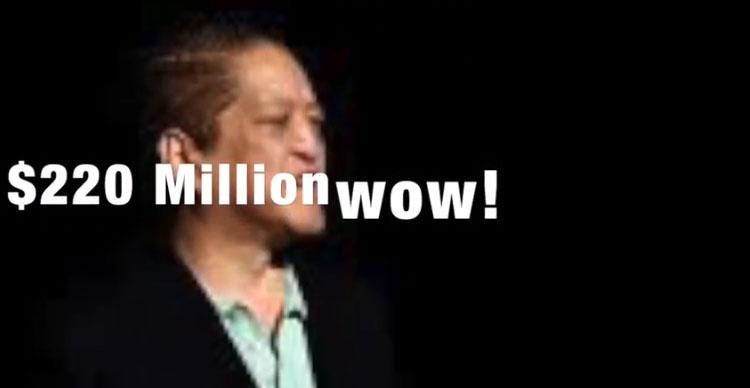 قمار بازی که 204 میلیون دلار در شرط بندی باخت !
