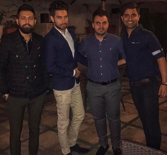عکس های ماهان بغدادی در کنار افراد مشهور + سایت شرط بندی هایپ بت