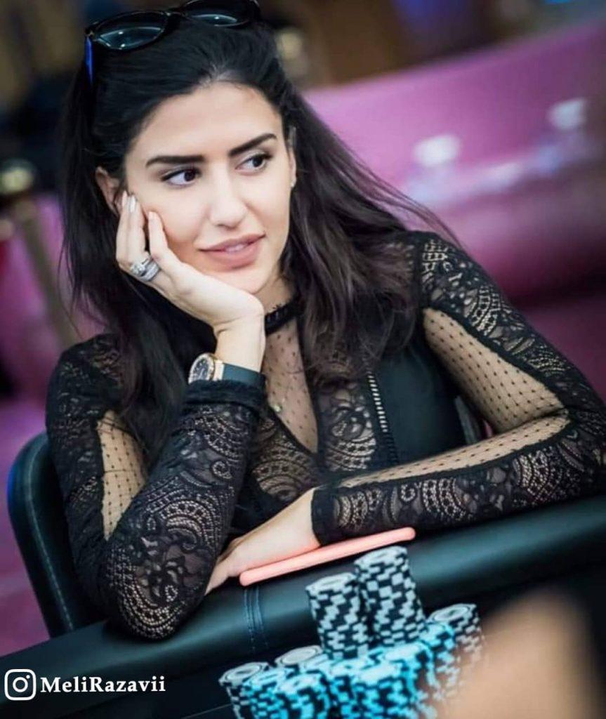 بیوگرافی ملیکا رضوی پوکر باز ایرانی