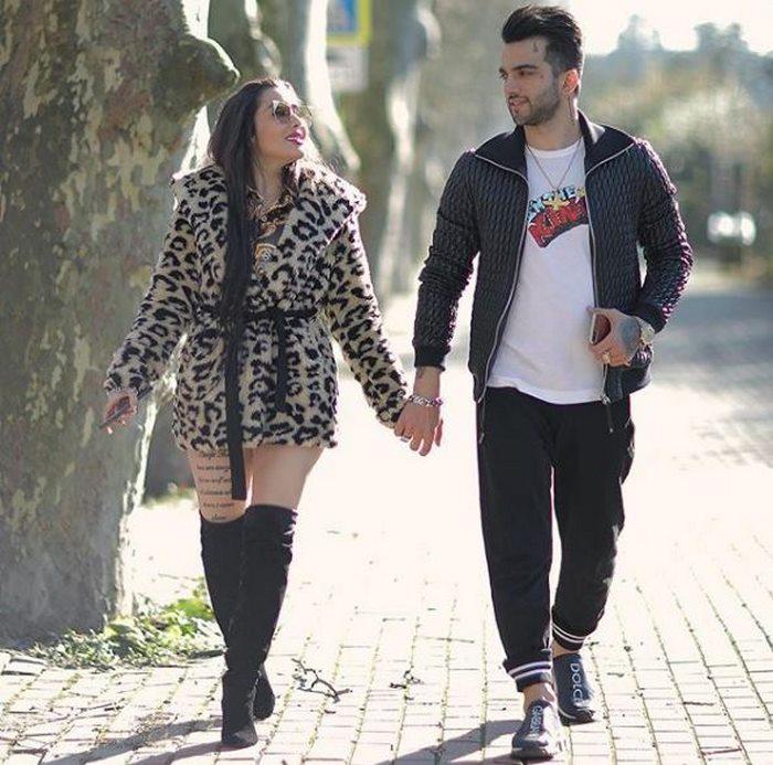 عکس های داغ پویان مختاری با همسرش نیلی افشار