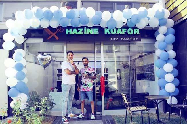 آرایشگاه و رستوران لاکچری داوود هزینه در ترکیه (+تصاویر)