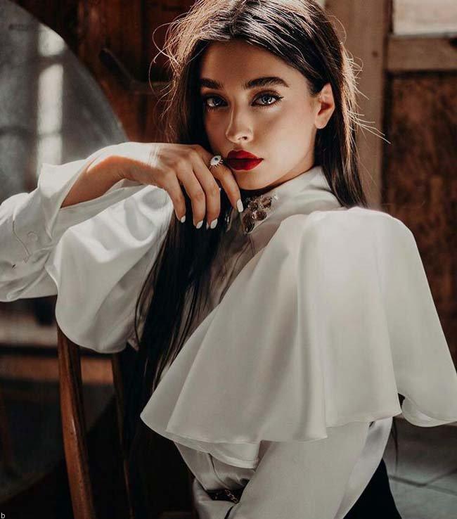 بیوگرافی کیمیا حسینی مدلینگ خوش چهره ایرانی (+عکس)