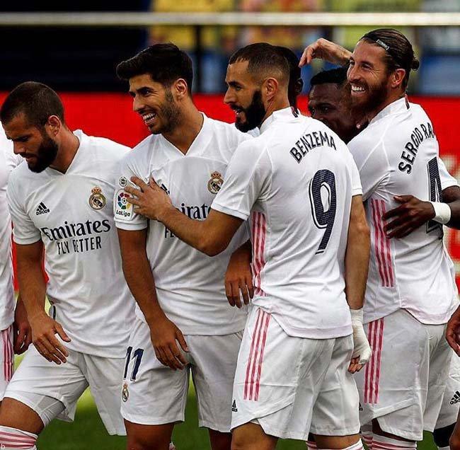 همه چیز در مورد شرط بندی بر روی تیم رئال مادرید RealMadrid