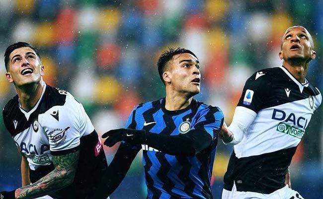 فرم پیش بینی بازی اینتر و اودینزه سری آ ایتالیا