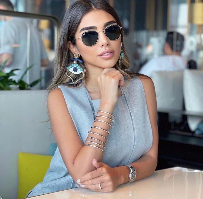 بیوگرافی تینا اسدی itstinaas بلاگر معروف ایرانی در دبی (عکس داغ ۱۸+)